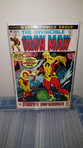 Iron Man Vol. 1  #48 VG in great shape