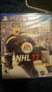 SEALED NHL 17 PS4 $55