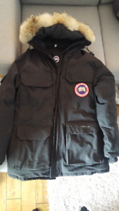 Men's Small Canada Goose Expedition Parka - Black