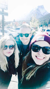 2 girls, 2 boys looking for two rooms to rent in Banff