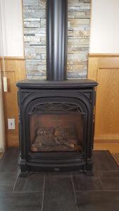 Valor Freestanding Natural Gas Fireplace
