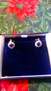 One beautiful pair of lady's earrings