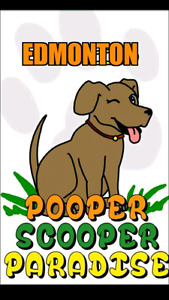 Dog poop / dog waste removal $10 weekly