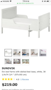 Like New IKEA Sundvik Children Extendable Bed Frame