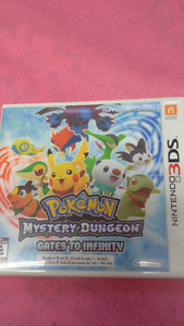 Ninetendo 3DS Pokemon Mystery Dungeon Gates to Infinity