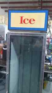 used  ice freezer