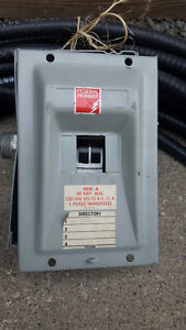 60 Amp Federal Pioneer electrical panel