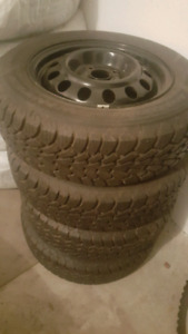 Winter tires on rims 185-65-14