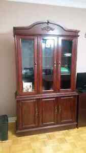 Dining room/ office  hutch and credenza