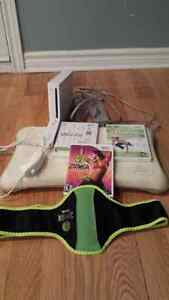Wii & wii fit avec 3 dvd exercices