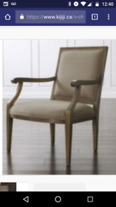 New Crate and Barrel Armchair