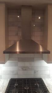 Perfect Condition kitchenaid hoodrange