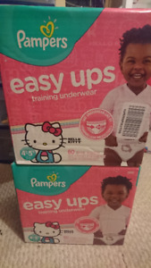 Pampers 4-5T Easy Ups 60 Count (2 boxes)