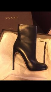 Gucci Leather Booties for Sale -Authentic & Gorgeous!