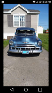 For sale 1949 chev tourpedo back
