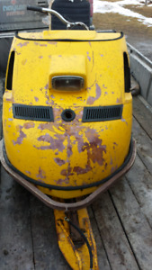 1969 Skidoo Alpine project