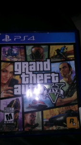 Gta 5 PS4 $30 nothing wrong with disc