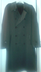 Armani-men long rain coat , Imperméable homme