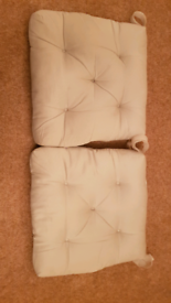 Ikea Chair Cushion - Light Beige - Price for Both