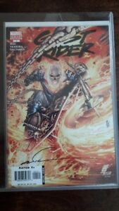 Ghost Rider #1 Comic Autographed by the Artist (rare)