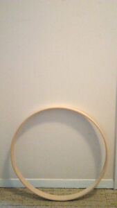 """*20"""" UNFINISHED MAPLE BASS DRUM HOOP*"""