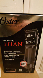 Oster Titan professional clippers NEW