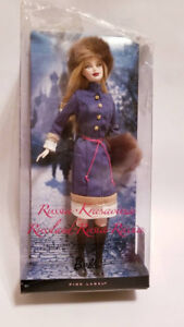 Rare 2009 Mattel Inc. Welcome To Russia Barbie Doll