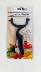 [Sealed] Ceramic Peeler Vegetables Fruits Kitchen Cutlery Black