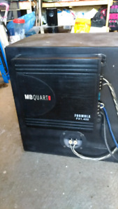 12inch sub and amp 400 watts rms