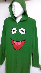 official Disney Kermit the Frog adult onesie pajama / costume