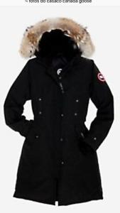 Canada Goose noir XL femme