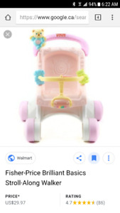Stroller/walker fisherprice