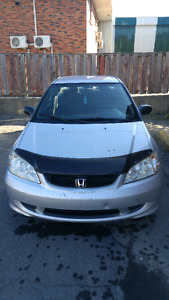 honda civic 2005 coupe mecanique A1 negociable