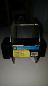 Reciever hitch for trailer or RV bumper, used once.  Like new