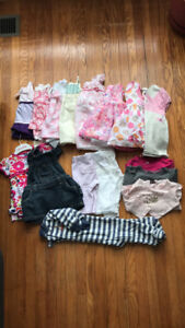 3-6 month baby girl clothing lot