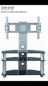 Brand new Glass tv mounted stand ( 2 sizes )