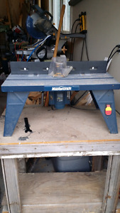 Master craft router and stand
