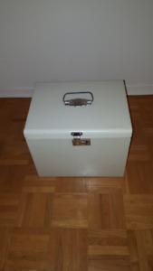 metal file box 10 x 12 x 10 high