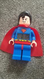 Lego Superman dc hero alarm clock