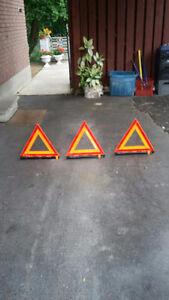 Grote reflective triangles Peterborough Peterborough Area image 1
