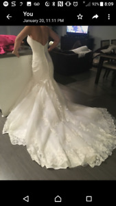 Wedding Dress size 4 never worn tags attached