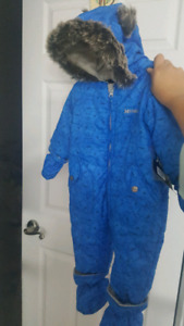 Brand new infant winter bunting/snowsuit