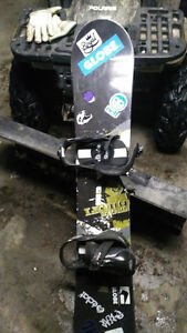 Liquid Snowboard, Burton Custom Bindings Peterborough Peterborough Area image 3