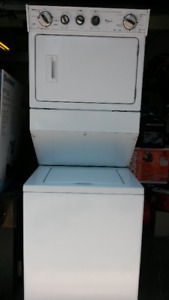 NEW Whirlpool Full Size Stacked Washer / Dryer
