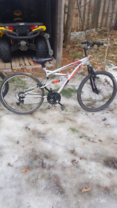 "26"" Huffy mountain bike    $120 or trade for bmx"