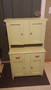 Adorable Child Sized Farm Cabinet