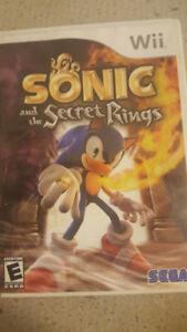 Sonic Jeux de Wii Secret Rings