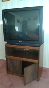 """36"""" TV with stand"""
