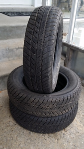 "3 ""Marshal"" Tires 185/65R15"