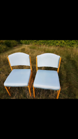 Four dining chairs REDUCED